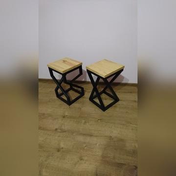 Hoker stołek taboret