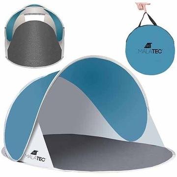 Namiot Plażowy POP-UP UltraLekki Niebieski