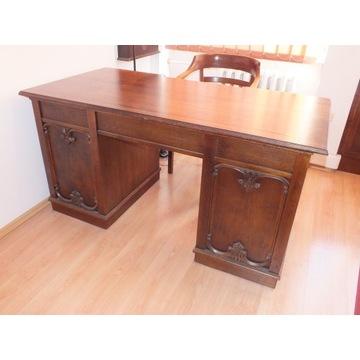 Biurko stylowe, stan idealny, po renowacji.