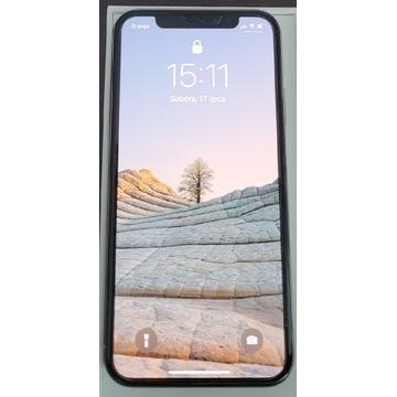 IPhone Xs 64GB Silver. Gwarancja 21.12.2021