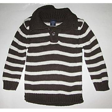 Sweter sweterek stójka GAP roz 92 cm