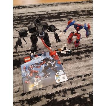 Lego 76115 Pajeczy Mech kontra Venom i Instrukcja