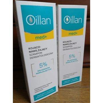 Zestaw dwóch szamponów Oillan Med