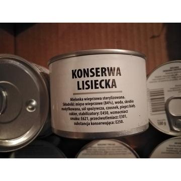 Wojskowa konserwa lisiecka 190 g