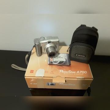Aparat fotograficzny Canon Power Shot A700 _ 6mg