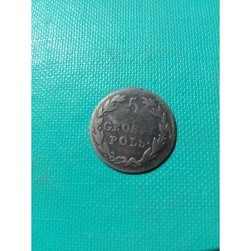 5 Groszy Polskich 1819 IB