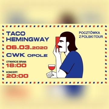 Taco Hemingway, Opole, 6.03.2020 (2 bilety)