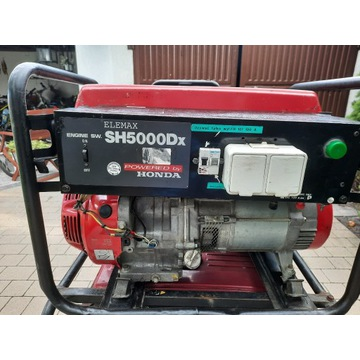 Agregat pr膮dotw贸rczy generator Honda SH5000 230V A