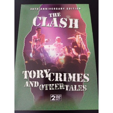 THE CLASH Tory Crimes and other tales 2 DVD