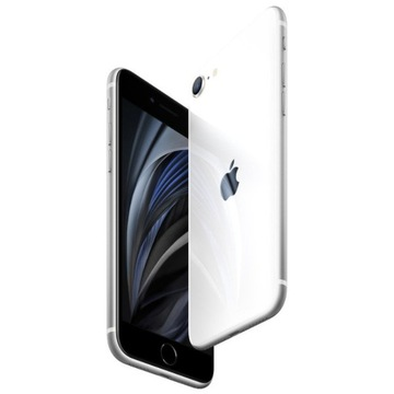Smartfon APPLE iPhone SE 64GB Biały + GRATIS ETUI
