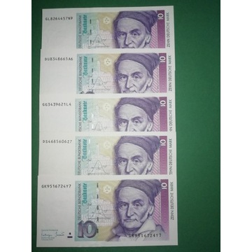 10 marek niemieckich stan bankowy