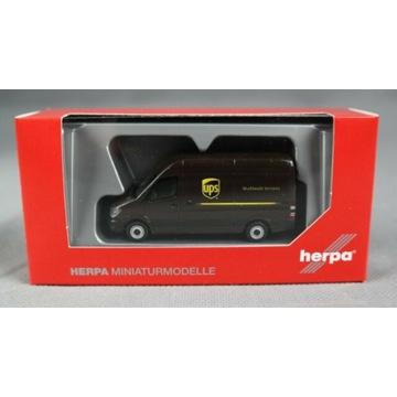 Mercedes Sprinter UPS Herpa 093408 skala 1:87