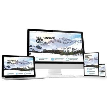 Strona internetowa www responsywna mobilna + SEO