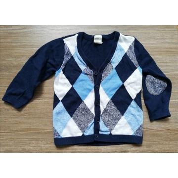 Sweterek rozpinany dla dziecka H&M rozmiar 86