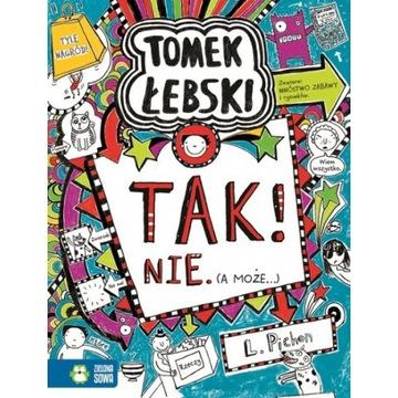 Tomek Łebski Tom 8  Tak, nie, a może...