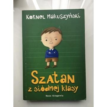 Szatan z siódmej klasy - Kornel Makuszyński litera