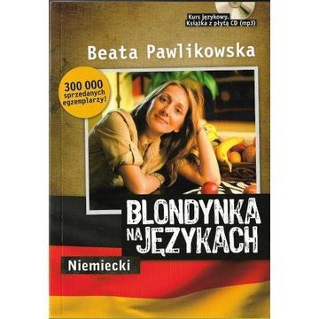 Blondynka na językach Niemiecki + CD