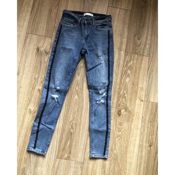 Nowe spodnie rurki ZARA
