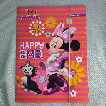 Teczka A4 z gumką Miki i Minnie