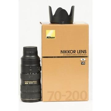 Nikkor 70-200mm f/2.8 G ED AF-S VR II