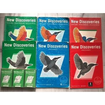 New Discoveries angielski 1 2 3 podręcznik ćwiczen