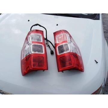 Lampy tylne oraz orurowanie FORD RANGER 2014