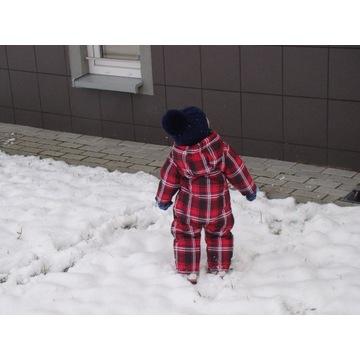 Kombinezon zimowy dla dziewczynki rozm. 74