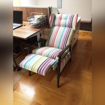 fotel uszak 62x 90 cm h=102,  rozkładany