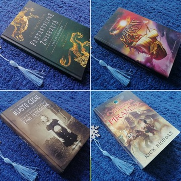 4xJ.K.Rowling Riordan Wieczorek Riggs wsparcie FKN