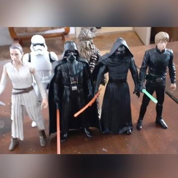 Star Wars figurki Hasbro zestaw 6 figurek