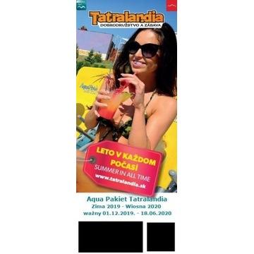 Tatralandia - bilet wstępu