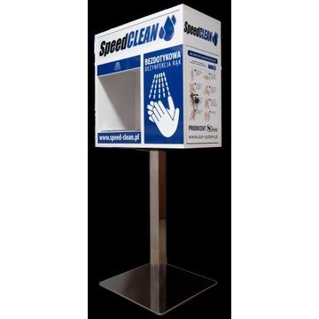 Automat bezdotykowy dezynfekcji rąk, SpeedCLEAN
