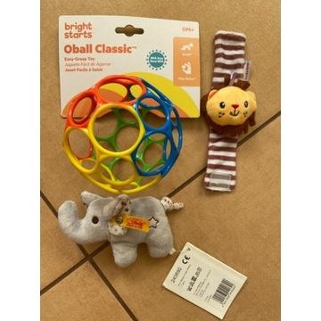 Zabawki Dla Dzieci. Zestaw 3 sztuk