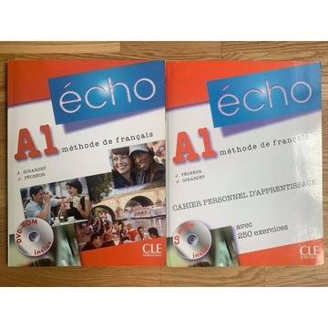 Echo A1 Komplet Podręcznik Ćwiczenia + DVD