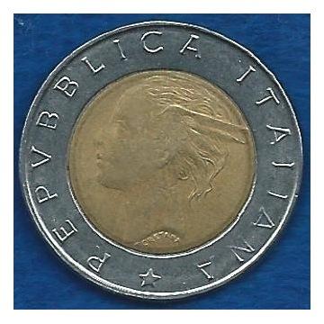 WŁOCHY  500  LIRÓW  1995 r.