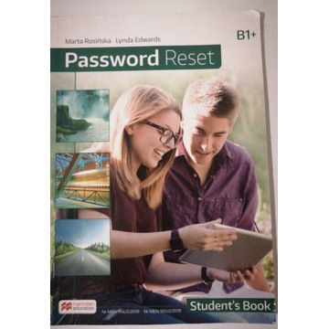 Password Reset B1+, Student's Book