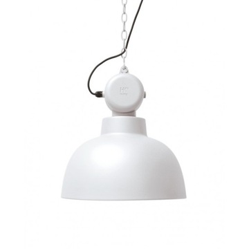Lampa biała nowoczesna HK Living M
