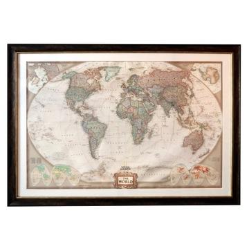 Mapa świata na ścianę!!!