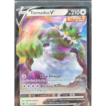 TornadusV 124/198 chilling reign karta pokemon