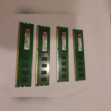 Pamięć RAM Kingston 4x2GB (8GB) DDR3 1333 Mhz