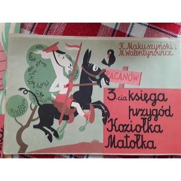 Przygody Koziołka Matołka K. Makuszyński 1983, PRL