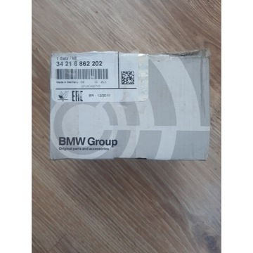 BMW ORG.Klocki hamulcowe, 34 21 6 862 202