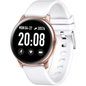 Nowy Zegarek smartwatch rubicon biało-różowy