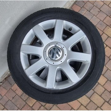 Golf  5 Edetion Aloys and used tires