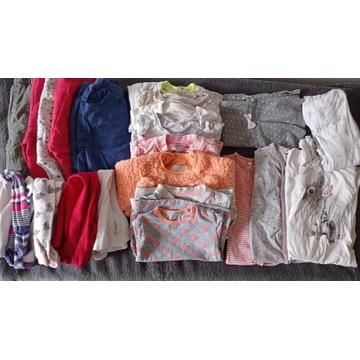 Ubranka dla dziewczynki, (zestaw)paka 74-80