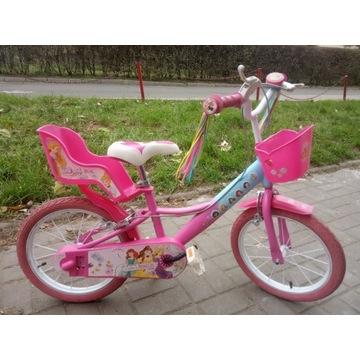 Włoski Rower dzieciecy 16 Różowy Księzniczki
