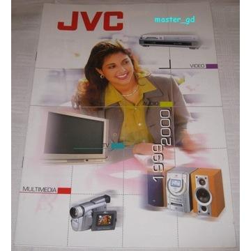 Zestaw katalogów retro JVC, Philips, Pioneer