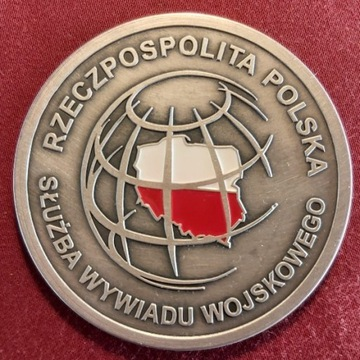 Coin Medal SWW Wywiadu Wojskowego