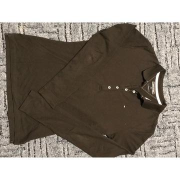 Koszula polo Hilfiger XS damska z długim rękawem