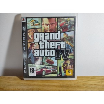 Grand Theft Auto IV PlayStation3 PS3